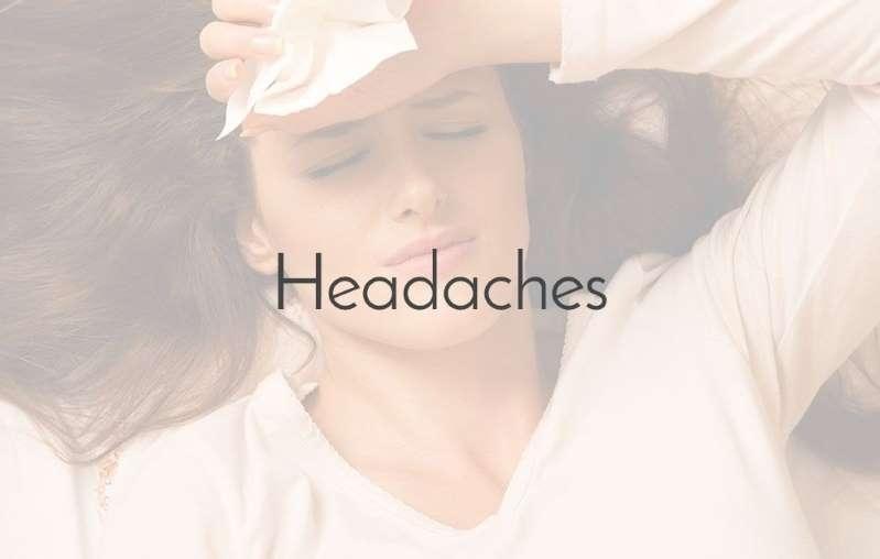 有领衬衫的人:头疼